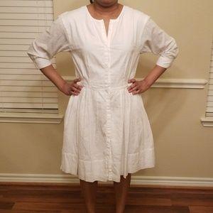 Size 12 White Gap Dress